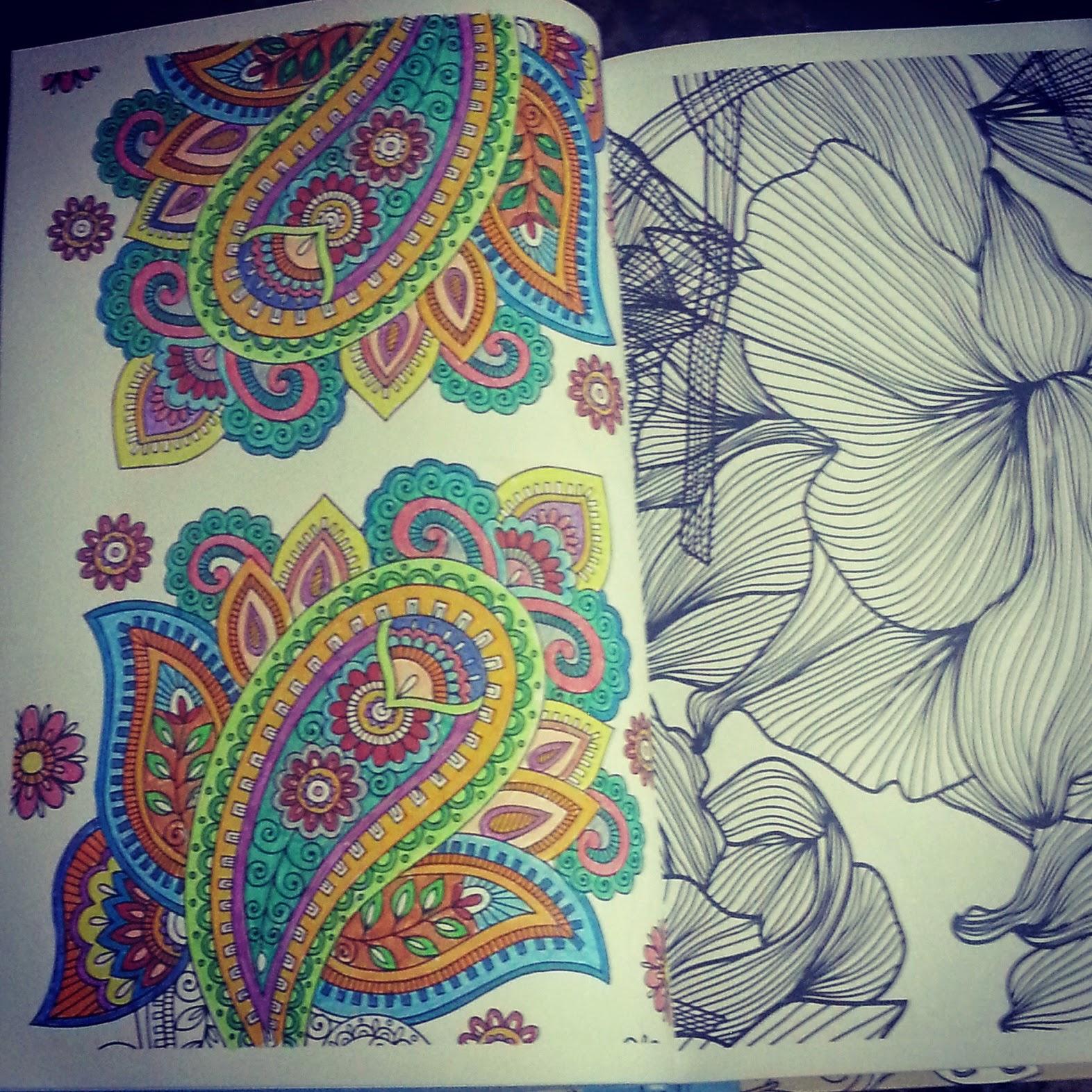 Arte antiestrés. Láminas para colorear | Entre montones de libros