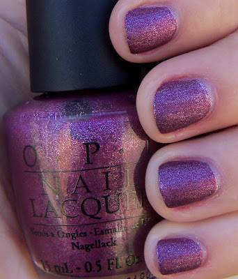 OPI We'll Always Have Paris Suede Swatch - Shade