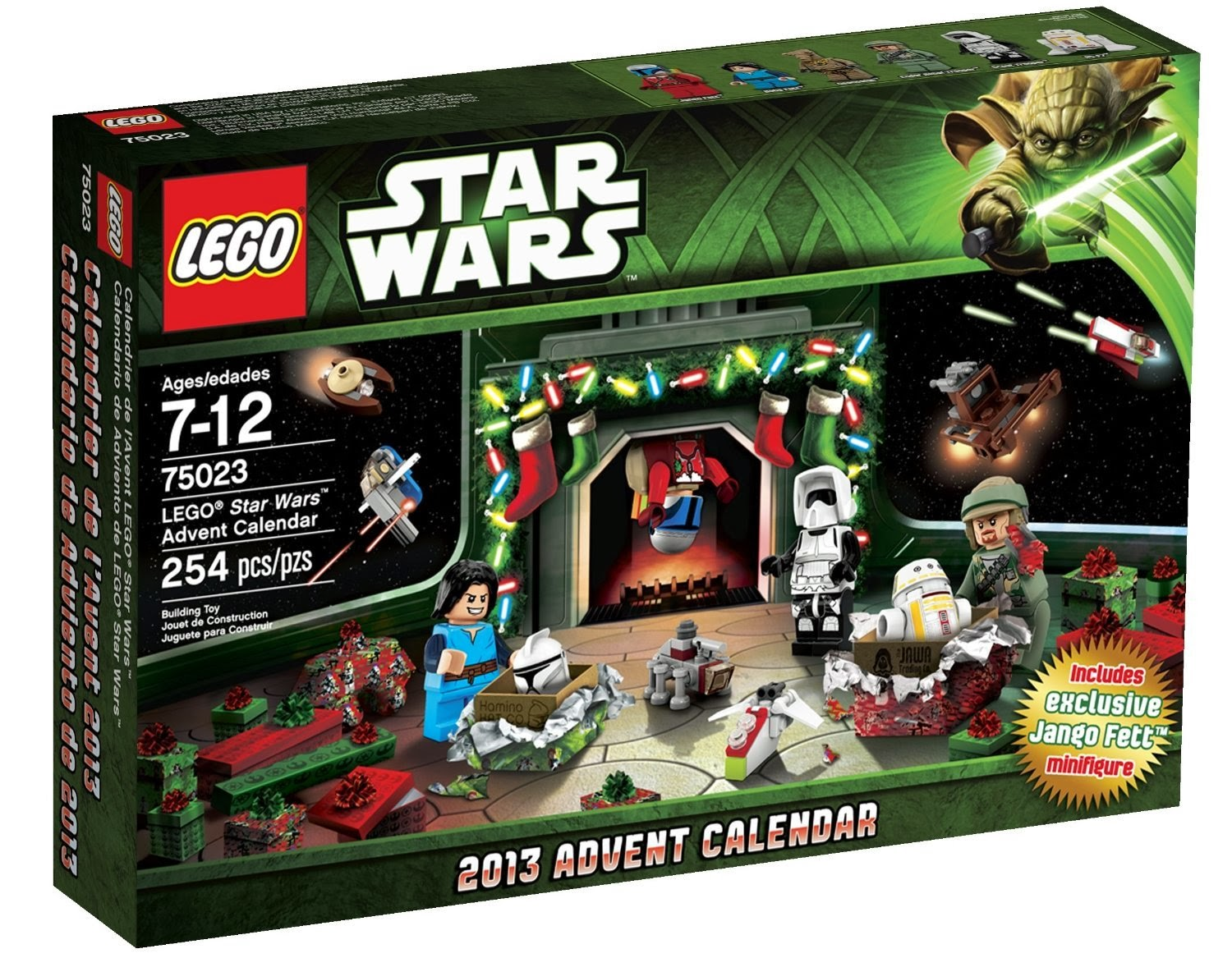 Cool Toys For Christmas 2013 : Lego star wars advent calendar best and top toys