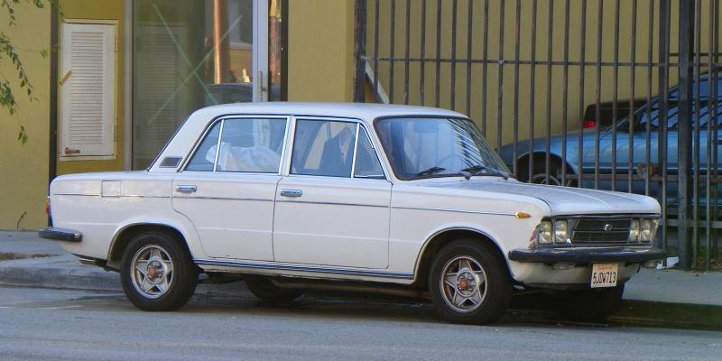 California Streets San Francisco Street Sighting 1970 Fiat 125