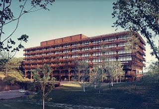 Central de la Jonh Deere Eero Saarinen