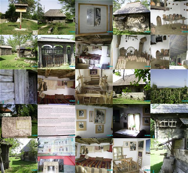 """Casa memorială Constantin Brâncuşi din Hobiţa, Gorj. """"Adevărata casă a lui Brâncuşi. Casa memorială este amplasată pe terenul unde s-a născut şi a copilărit sculptorul, dar nu este adevărata casă în care s-a născut Brâncuşi. Aceasta se află la circa 100 de metri mai jos de casa memorială."""" read for more info on wikipedia"""