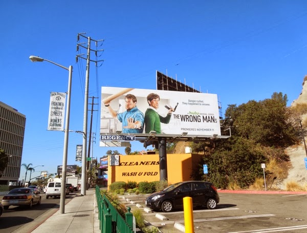 Wrong Mans billboard