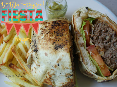 Tortilla-Wrapped Mexican Fiesta Burgers from www.anyonita-nibbles.co