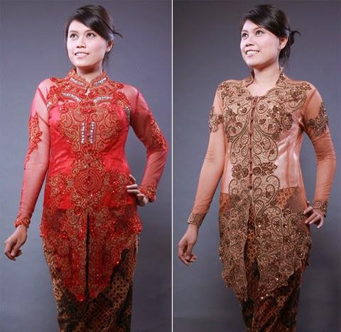 model baju kebaya modern wisuda 2015