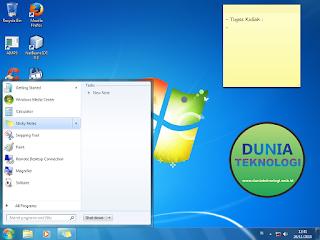 Sticky Notes - Aplikasi Catatan Windows