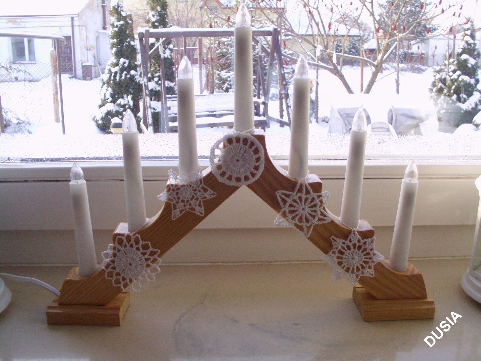 Ozdoby na świecznik