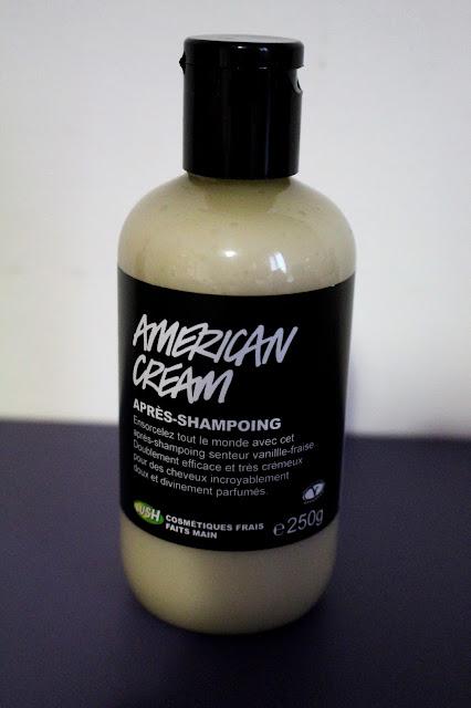 Revue american cream vive la revolution Lush