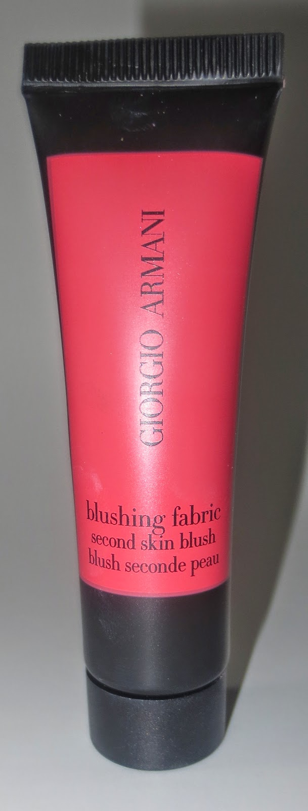 Giorgio Armani Blushing Fabric #1 Translucent Strawberry