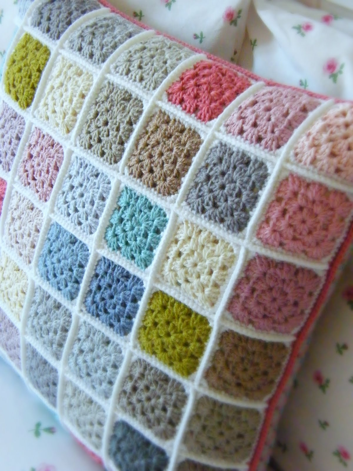 Annies Place Solid Willow Crochet Block How To