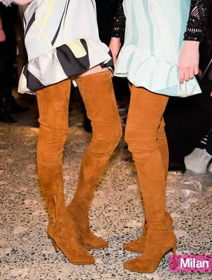 En Yeni Moda Bayan Çizme Ayakkabılar