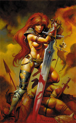 warrior woman fantasy