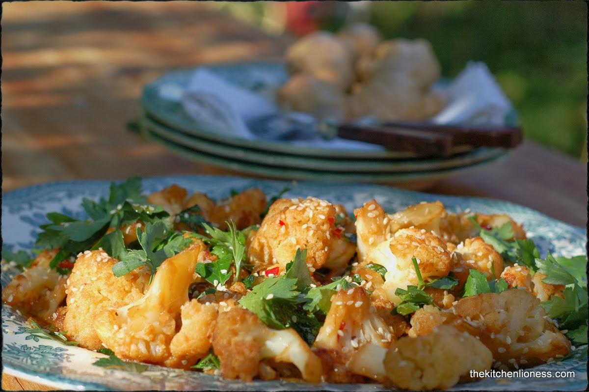 "... Lioness: ""River Cottage Veg Everyday"" - Stir-fried sesame cauli..."