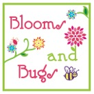 Blooms And Bugs Button