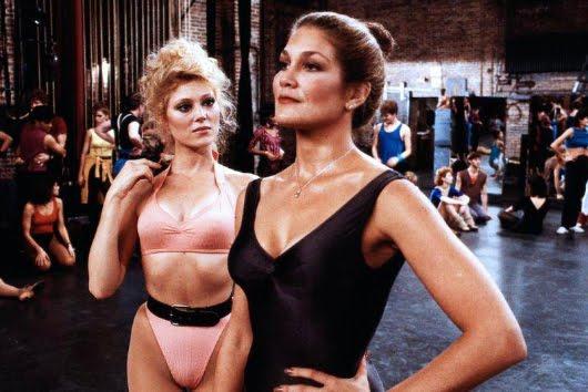 Audrey Landers y Vicki Frederick en 'A Chorus Line'