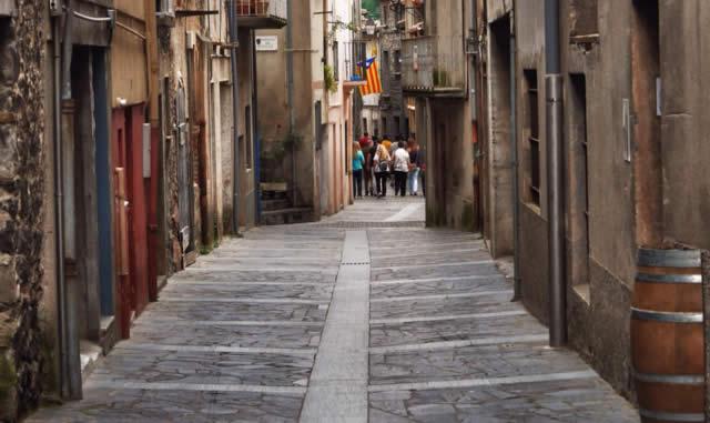 Castellfollit de la Roca, Spain, Girona, Catalonia, Spain -Espanha, España