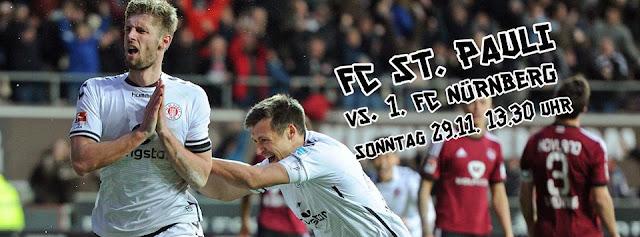 16ª rodada - FC St. Pauli vs 1.FC Nürnberg