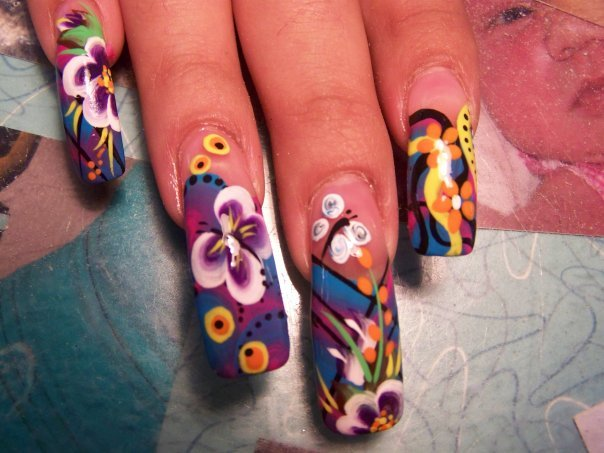 nail designs for short nails for beginners