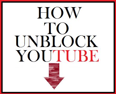 Unblock youtube.com