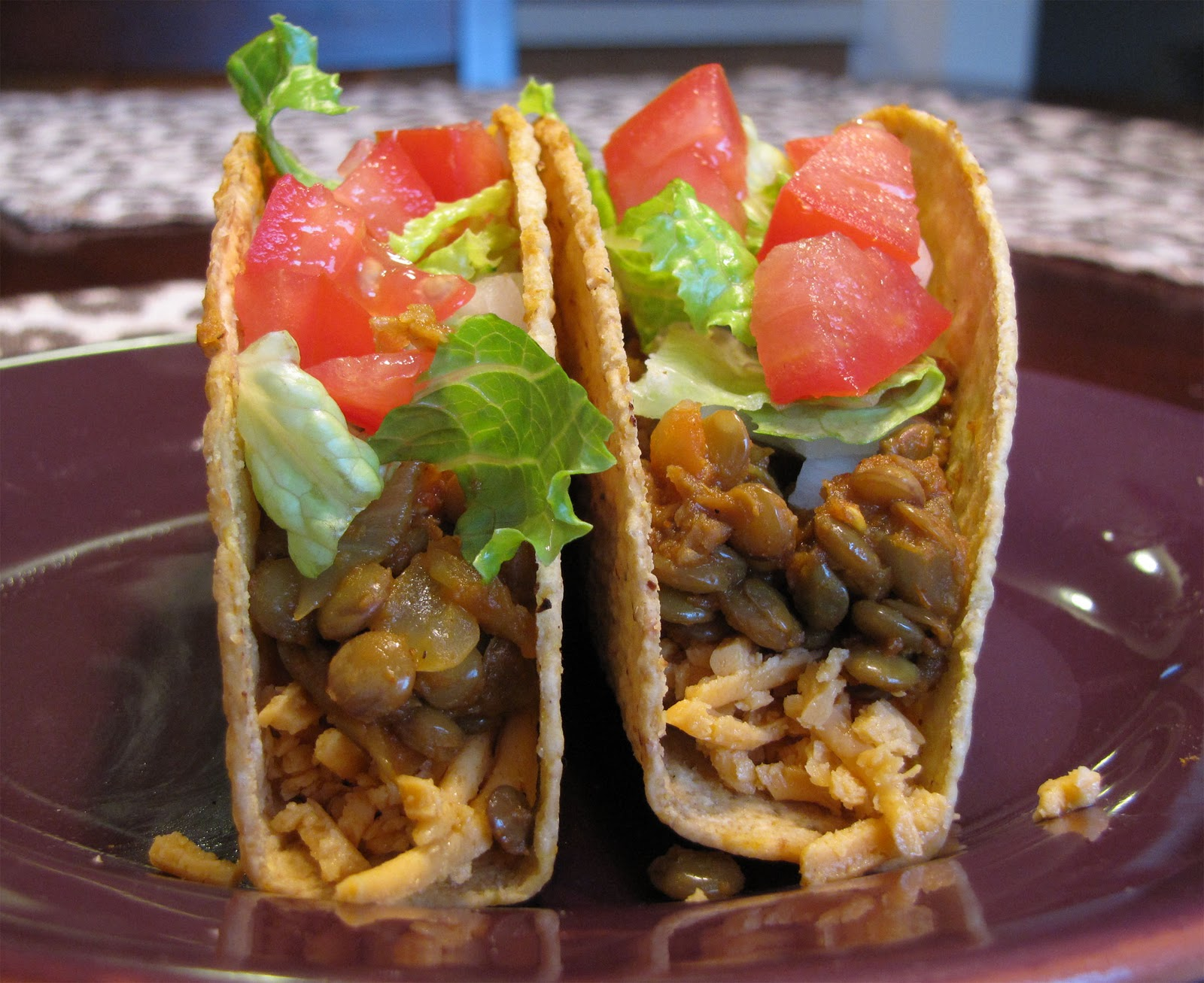 The Snarky Chickpea: Spicy Lentil Tacos