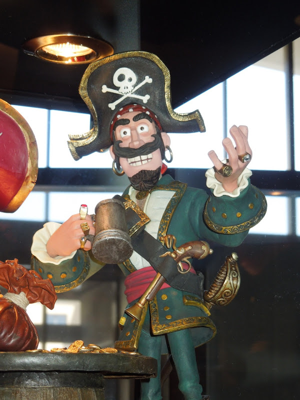 Pirates Black Bellamy claymation character