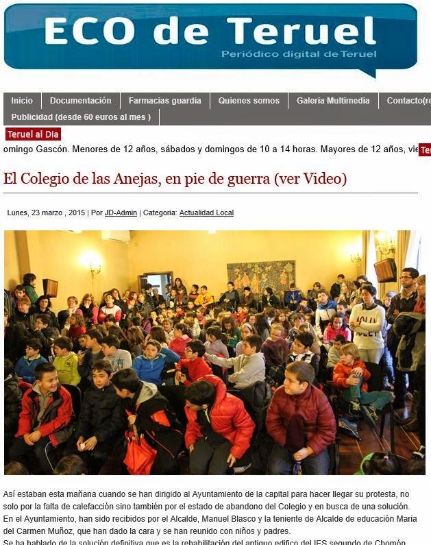 A m p a anejas teruel 2015 03 22 - Colegio aparejadores teruel ...