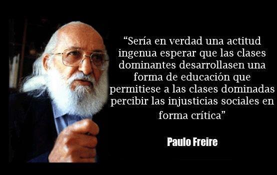 Favoritos La educación en frases de Paulo Freire DV15
