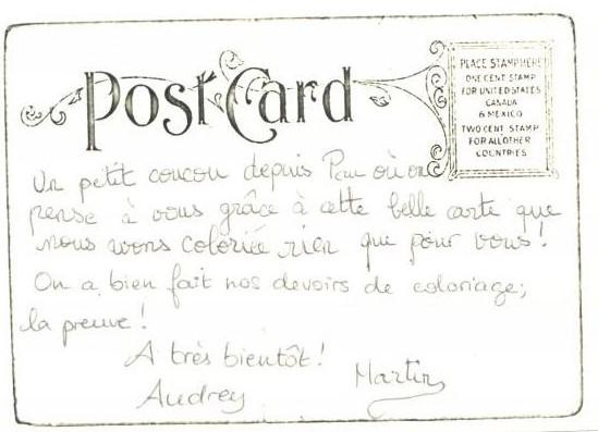 Les Jolies Choses de Bobines de Filles...: Carte postale de vacances