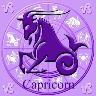 Imagen de Capricornio en el reloj del zodíaco, con el símbolo del signo