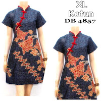 Baju Dress Batik Shanghai