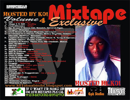 GOODPHELLA ENTERTAINMENT MIXTAPE EXCLUSIVE Vol.4  HOSTED BY K01