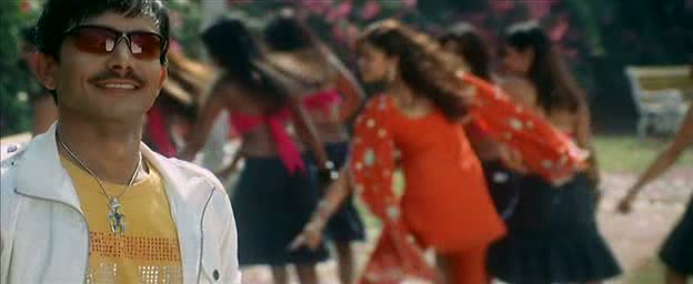 KRK and Hrishita Bhatt bollywood dance