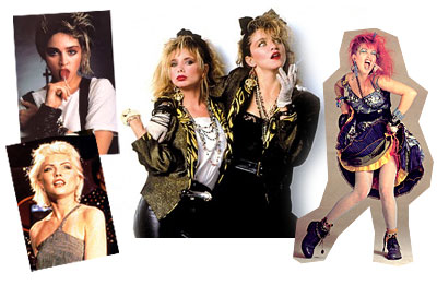 Popular 80s Fashion For Women s Rock Star Female Costume