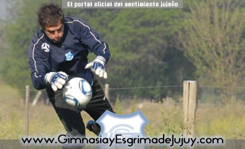 Maxi Cavalotti, Arquero Gimnasia de Jujuy