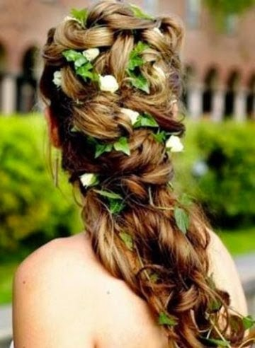 New Wedding Hairstyle Flowershttprefreshroseblogspotcom