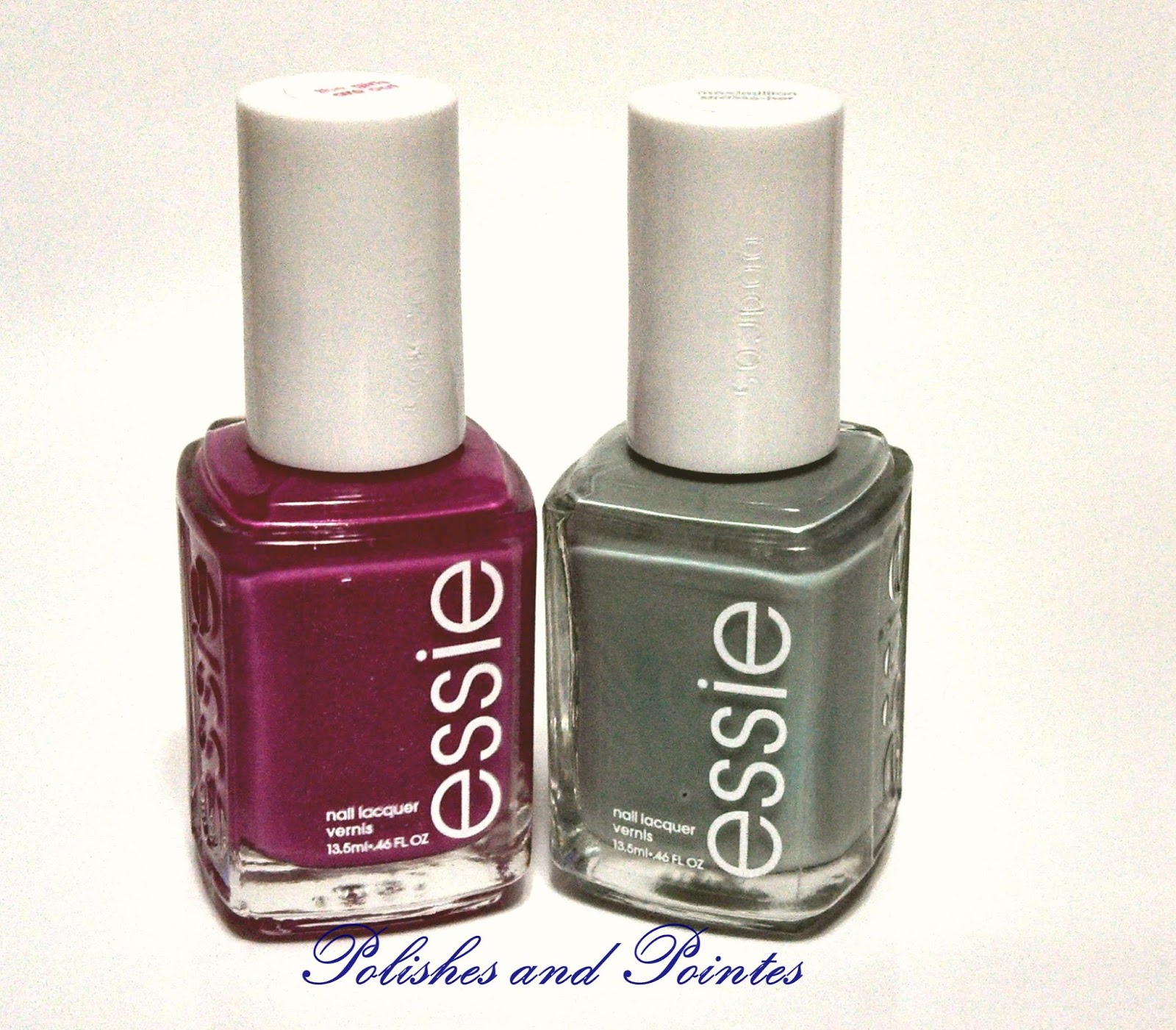 Polishes And Pointes: Essie The Girls Are Out and Maximilian Strasse-Her