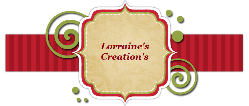 Lorraine's creations