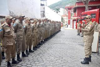Corpo de Bombeiros do Rio inaugura gabinete itinerante