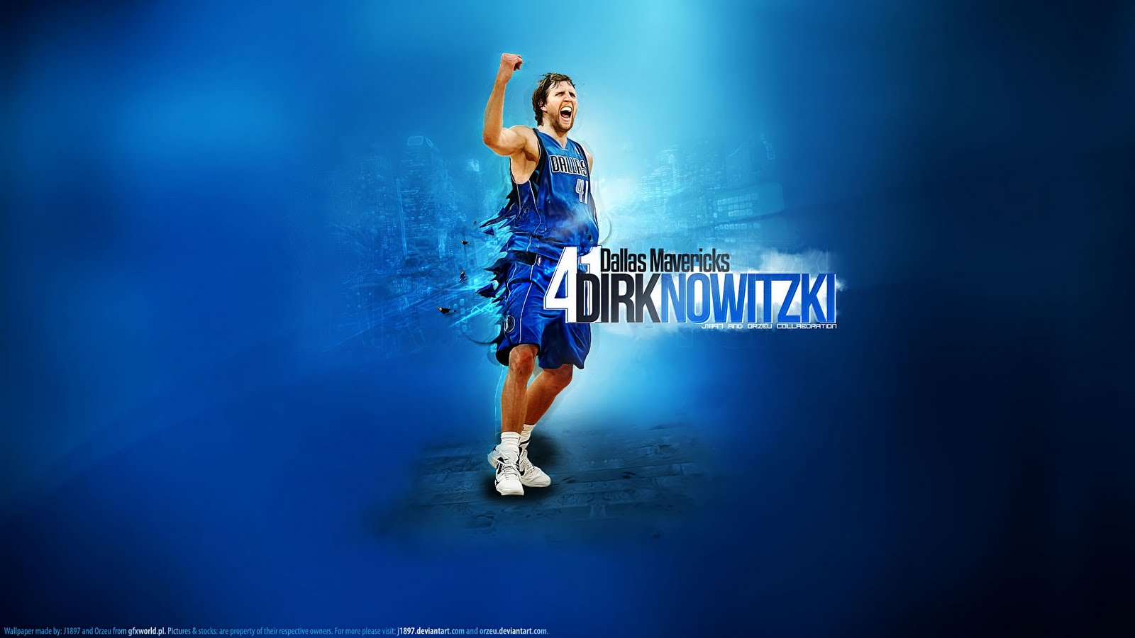 Dirk Nowitzki Mavs Playoffs Widescreen Wallpaper ~ Big Fan ...