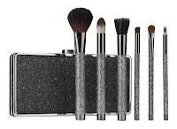 Style Athletics Holiday Gift Guide for Athletes Athletic Girls Sonia Kashuk Black Glitter Makeup Brushes