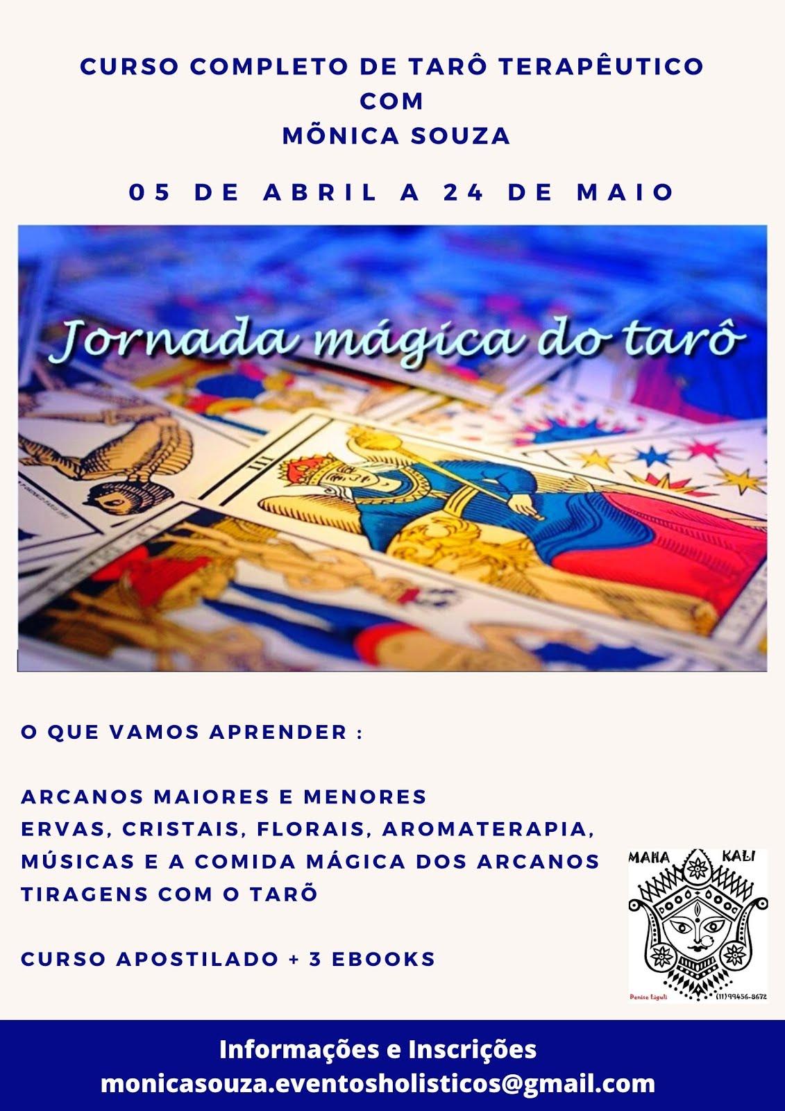 CURSO JORNADA MÁGICA DO TARÔ
