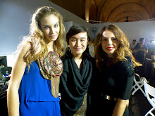BACKSTAGE SWAROVSKI FASHION SHOW