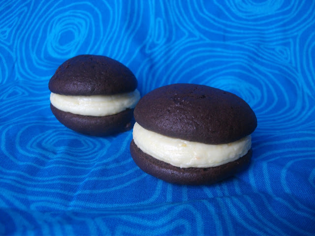 Chocolate and Orange Whoopie Pies
