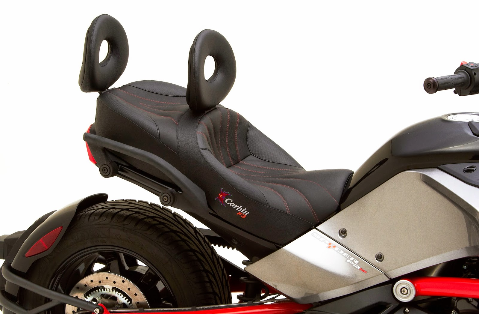Wiring easily into your spyder s loom using the provided accessory plug the corbin seat heaters are