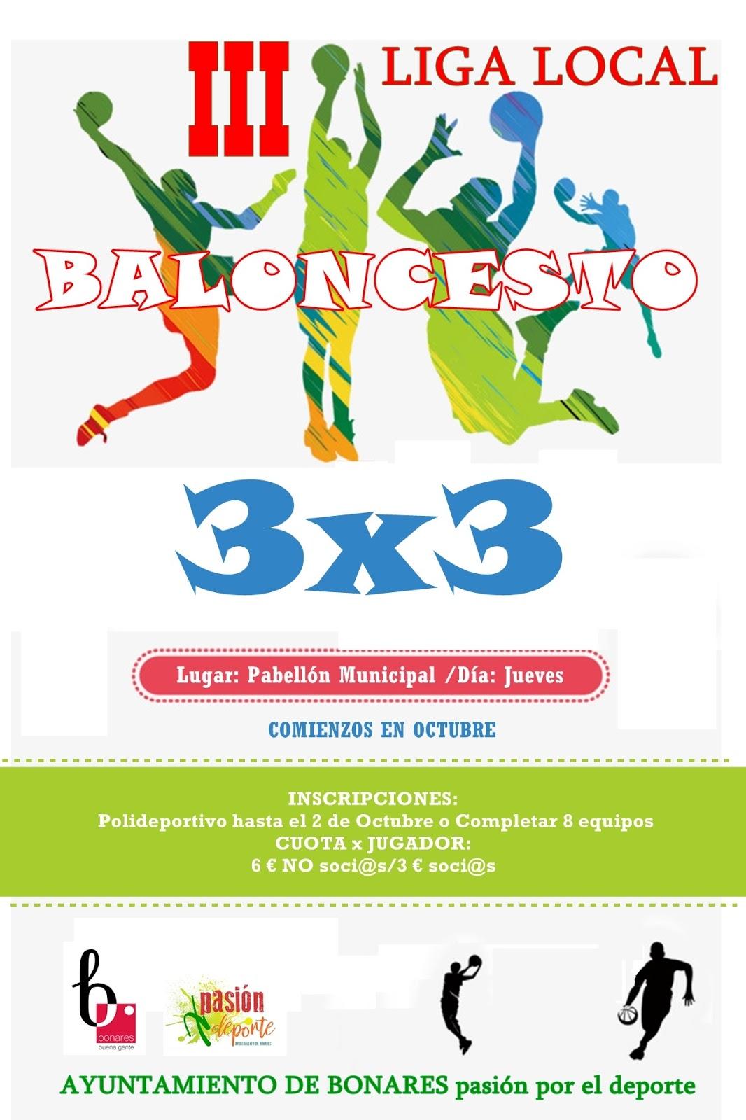 III LIGA LOCAL 3X3 BALONCESTO