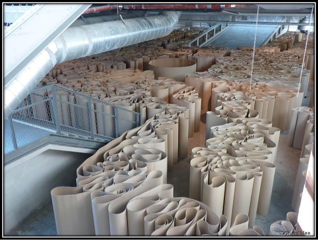 Labyrinthe de Michelangelo Pistoletto au 104 CentQuatre Paris 19ème