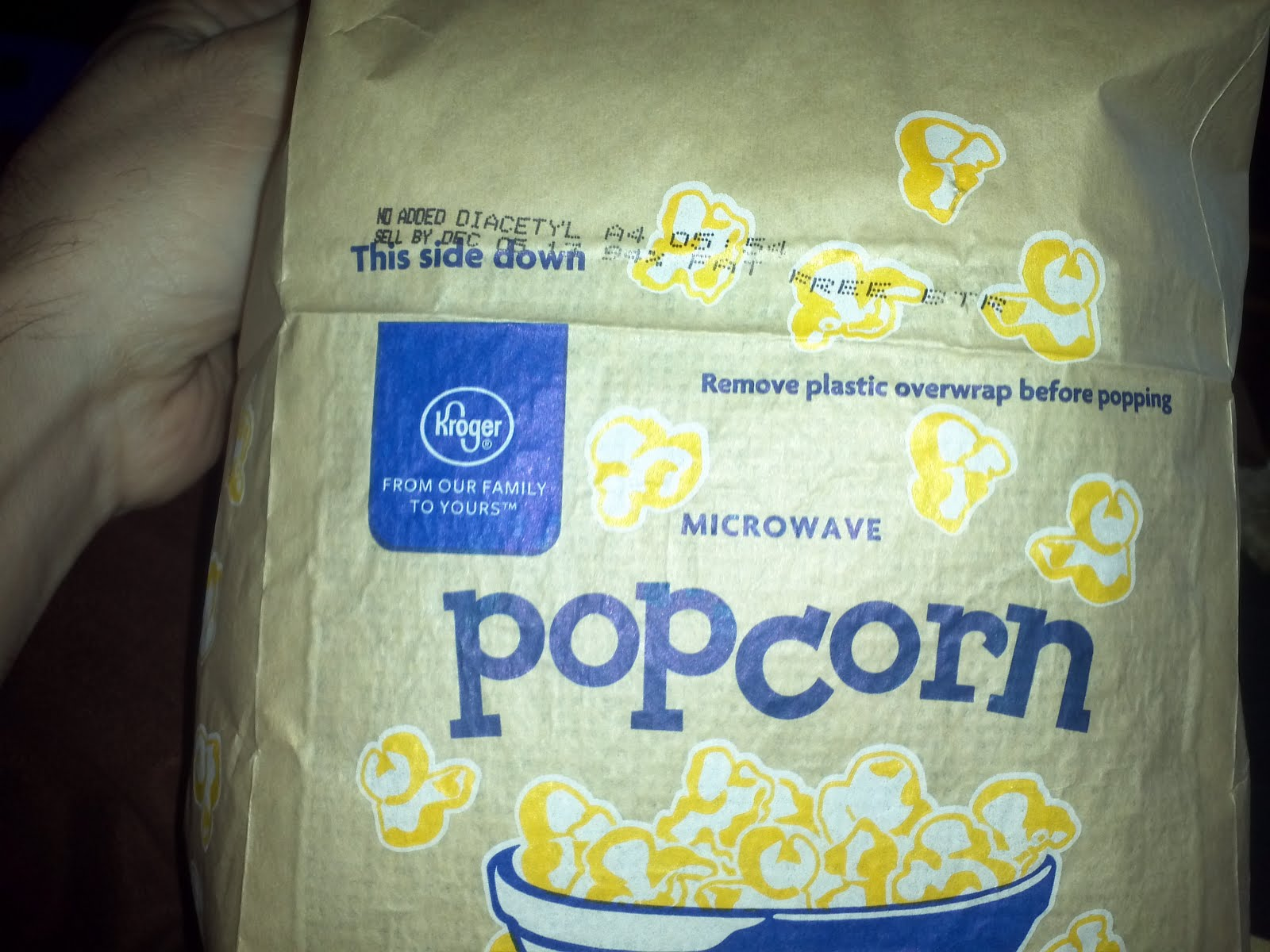 Chris Allen S Spectacularly Mediocre Blog Brand Microwave Popcorn