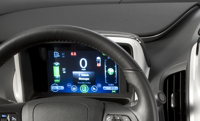 Vauxhall Ampera instrument panel