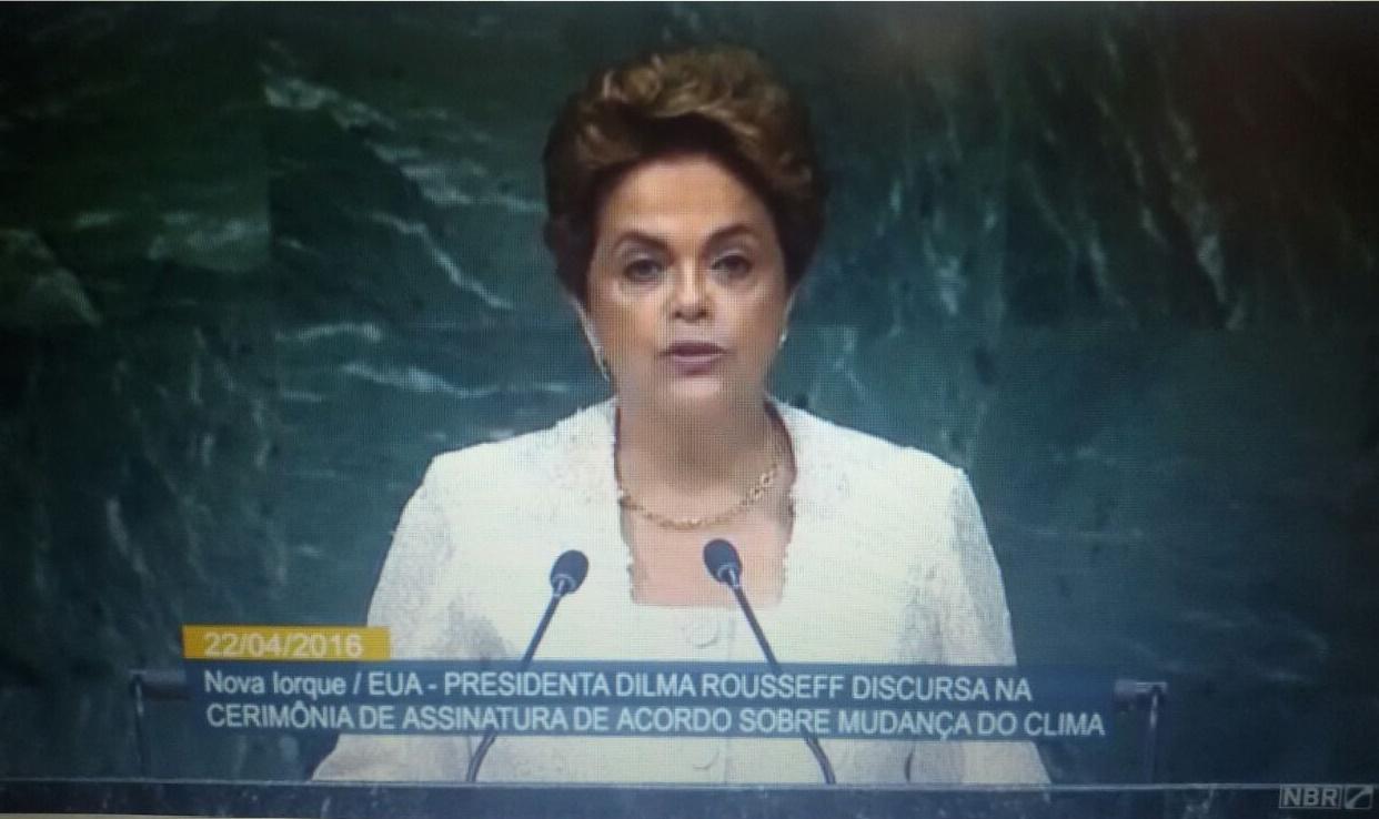 Dilma em discurso na ONU cita 'grave momento' vivido pelo Brasil