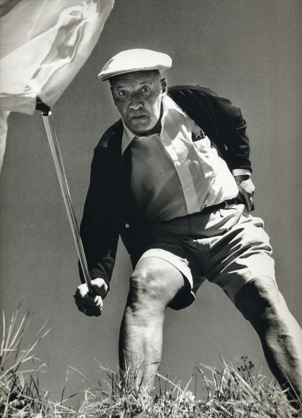 Vladimir Nabokov, Borboletas, Philippe Halsman, Montreux, Switzerland